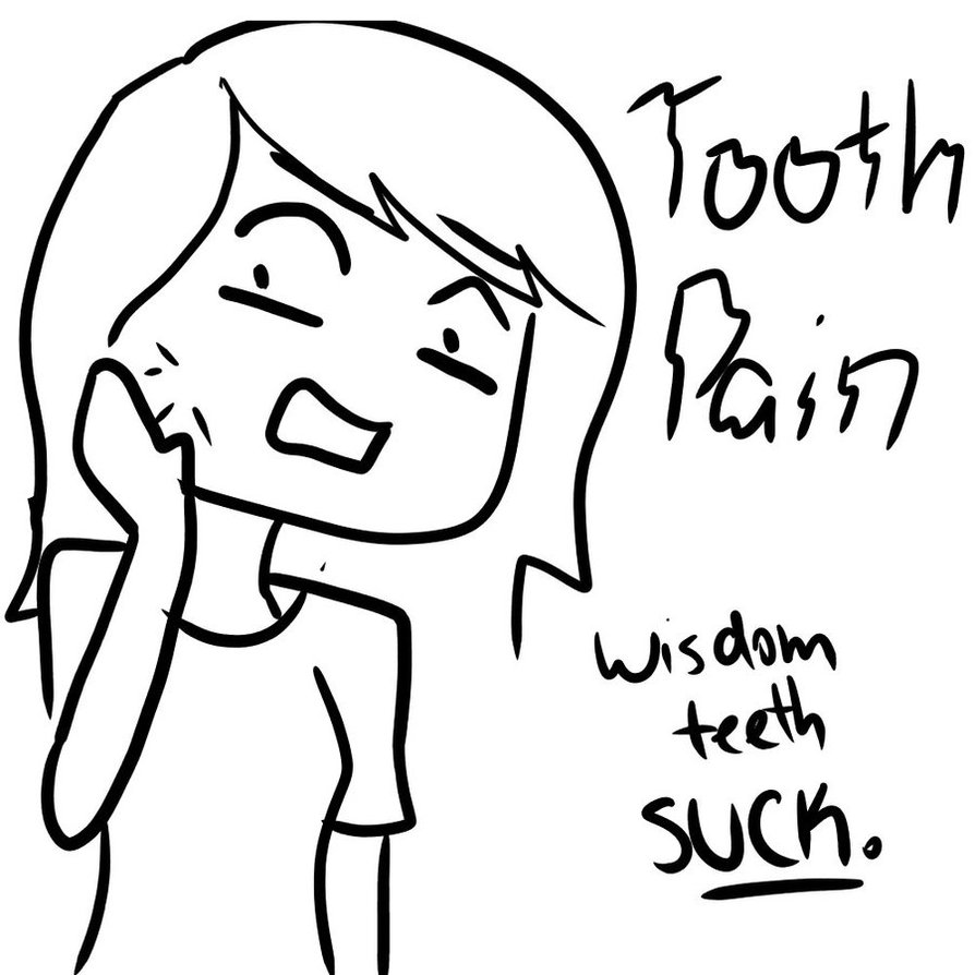 tooth_pain__wisdom_teeth__by_theanimeuniverse-d46d4mz