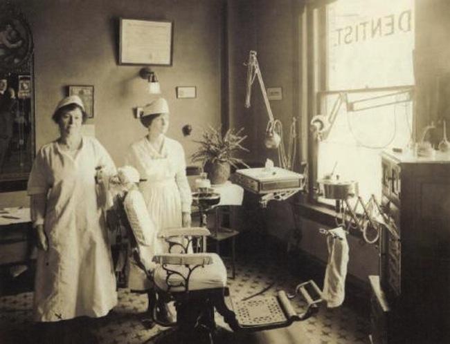 old time dentist