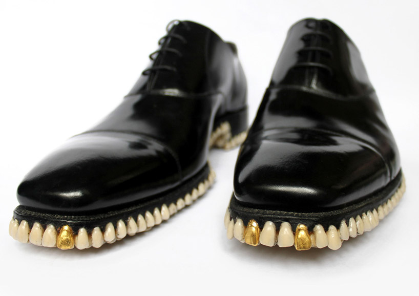 tooth soled shoes by fantich & young