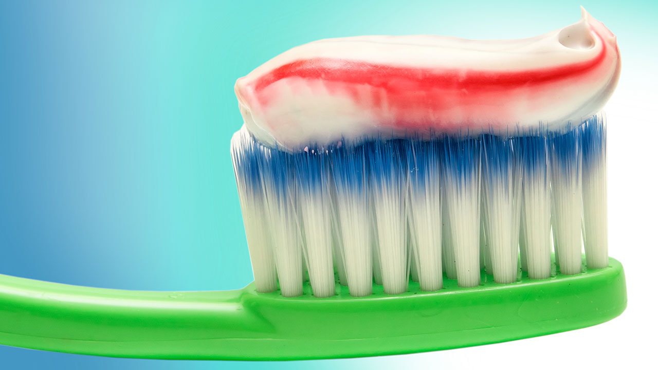 toothpaste brush