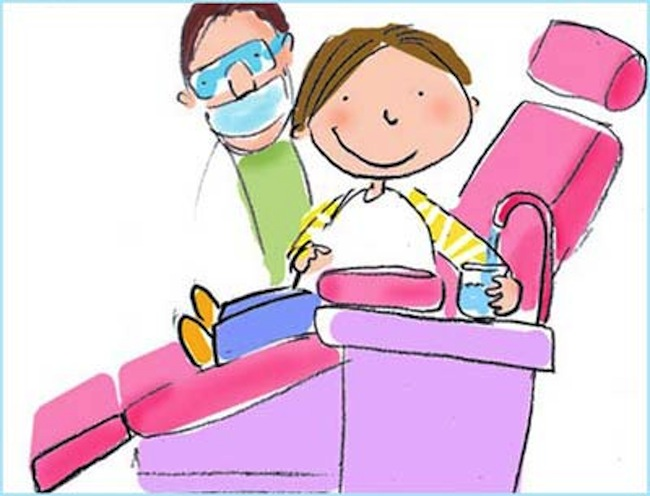 baby in dentistry-cartoon