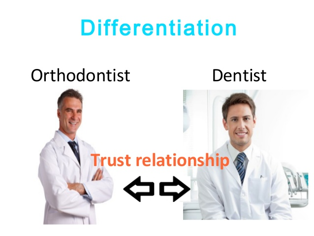 orthodontist vs dentist