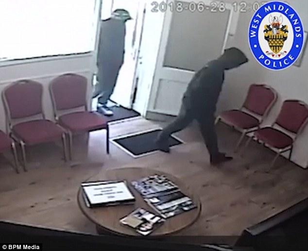 stealing dentist,s Rolex watch1