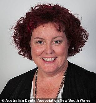 کاترین متیوز، رئیس انجمن دندانپزشکس ایالت نیو ساوت ولز استرالیا